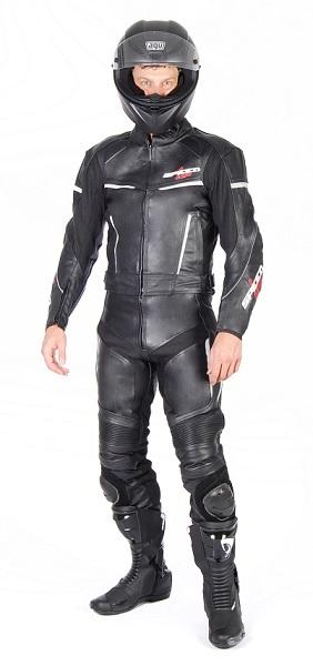 SPEED UP Alpha motoros bőrruha fekete fehér f8333c11a8