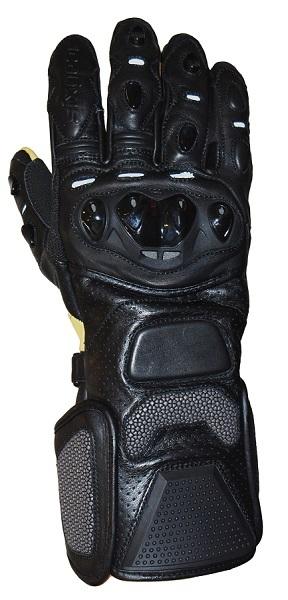 Sixgear Supreme motoros kesztyű fekete 380c1fef4f